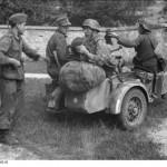 Nordfrankreich, deutsche Fernmeldesoldaten