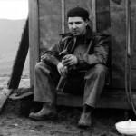 Pause im Tagebau 1956